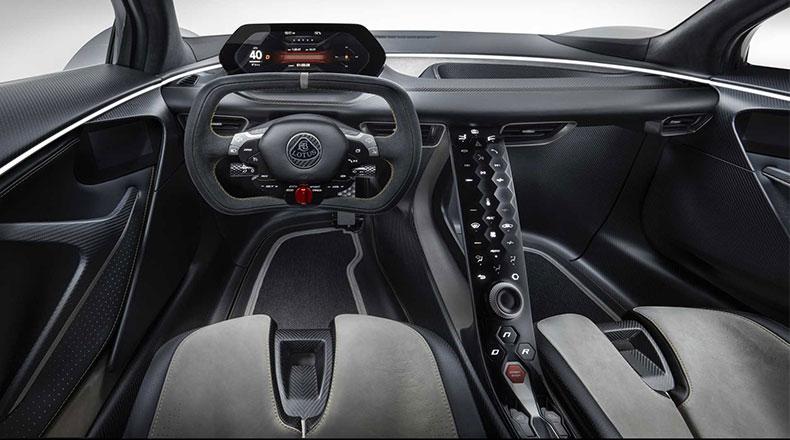 Elektrikli Hiper Otomobil Lotus Evija 5