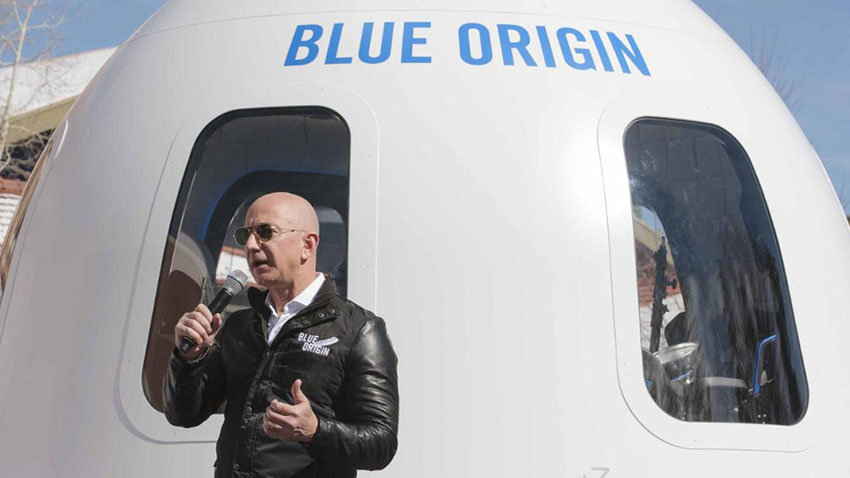 Jeff Bezos Blue Origin 1