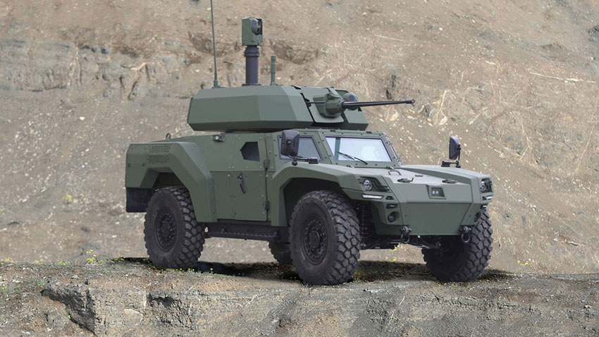Otokar Elektrikli Zırhlı Araç Akrep IIe 1