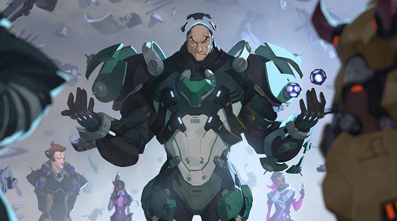 Overwatch Yeni Kahraman Sigma 2