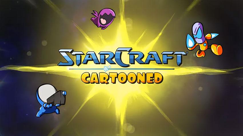 StarCraft Cartooned 1
