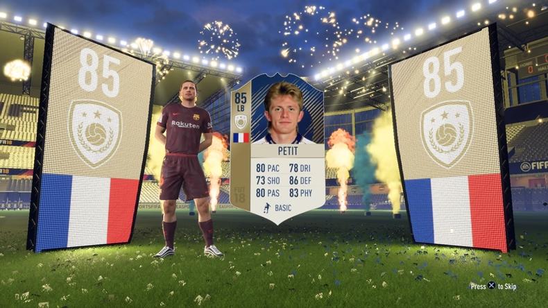 FIFA 19 loot box