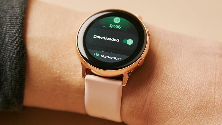 Samsung Galaxy Watch Active 2'nin Basın Görseli Sızdırıldı