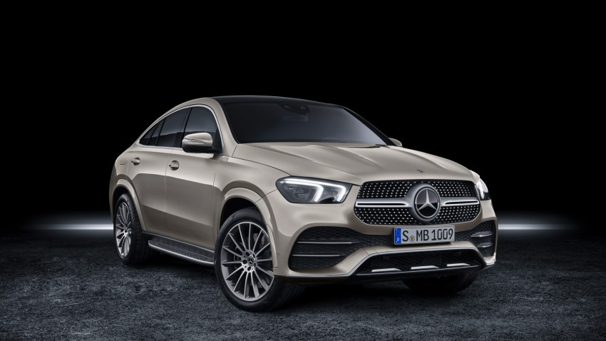 2020 Mercedes-Benz GLE Coupe 1