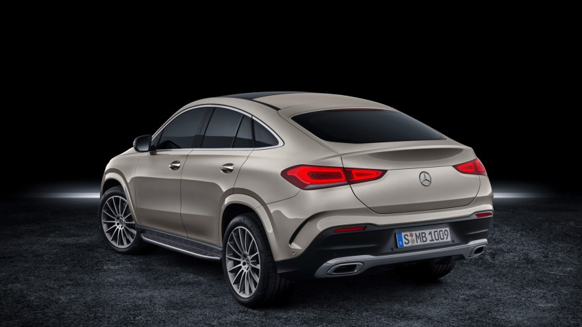 2020 Mercedes-Benz GLE Coupe 2