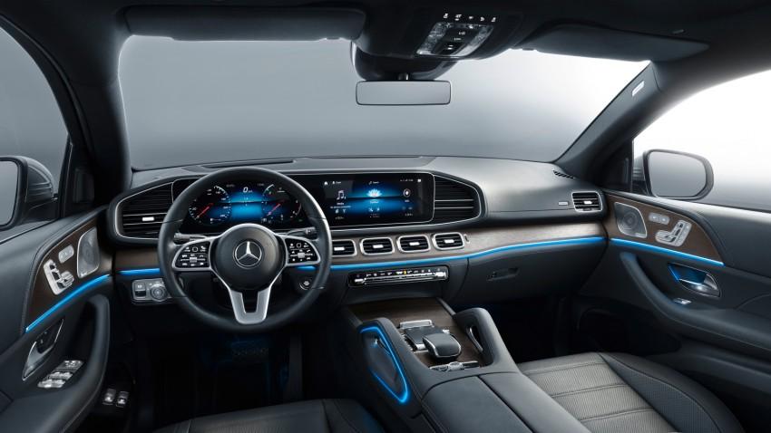 2020 Mercedes-Benz GLE Coupe İç Mekan
