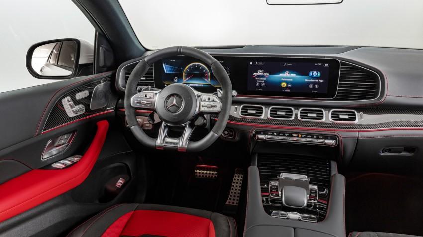 2020 Mercedes-AMG GLE 53 Coupe İç Mekanı