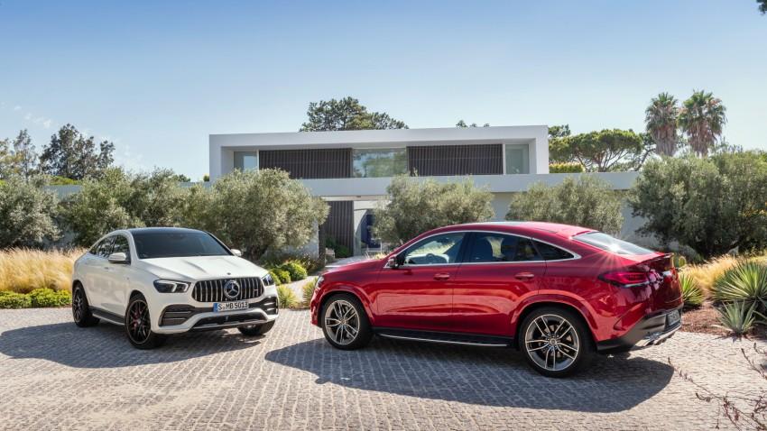2020 Mercedes-AMG GLE 53 Coupe ve GLE Coupe