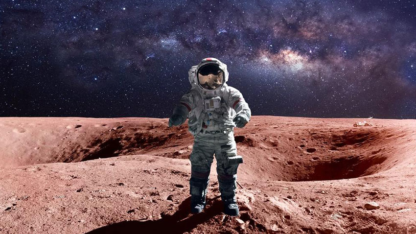 NASA Mars Astronotlar