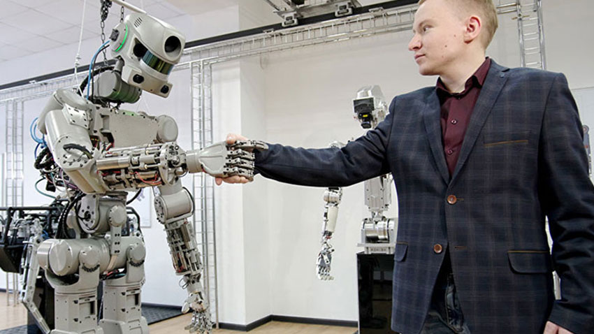 Rusya İnsansı Robot Fedor