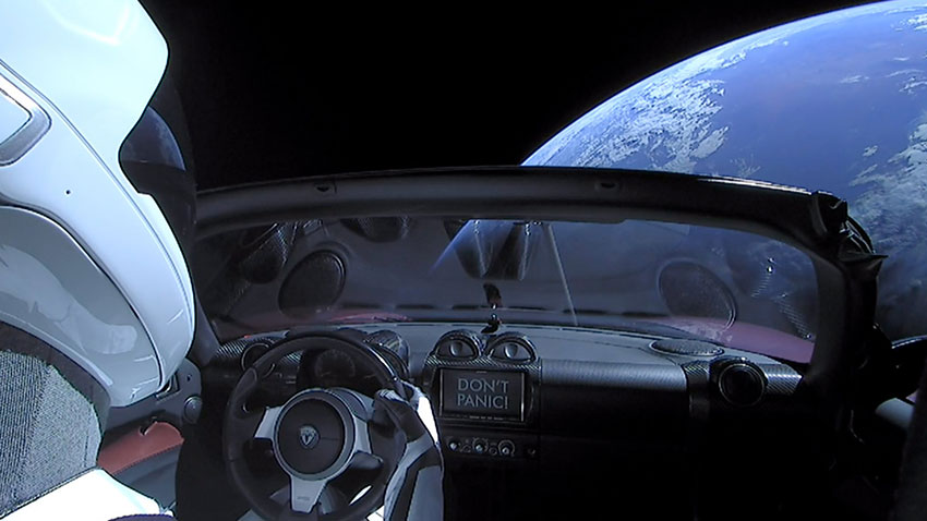 SpaceX Starman Roadster