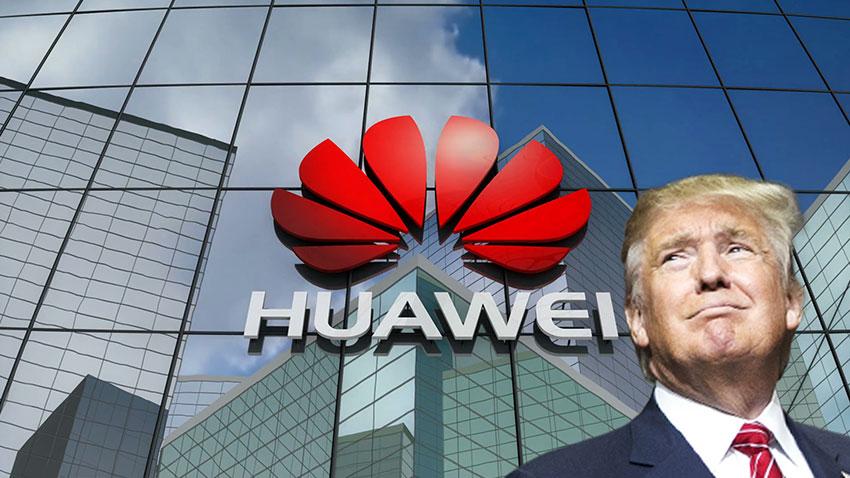 Trump Huawei Açıklaması