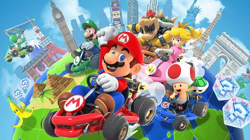 Mario Kart Tour, iOS ve Android için 25 Eylül'de Çıkıyor