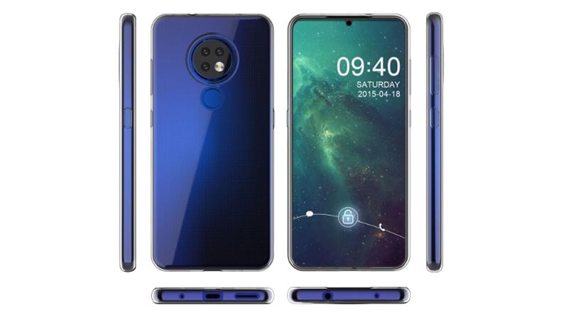 Nokia 7.2 akıllı telefon