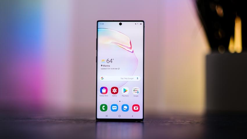 Samsung galaxy note 10 plus kutu açılış videosu