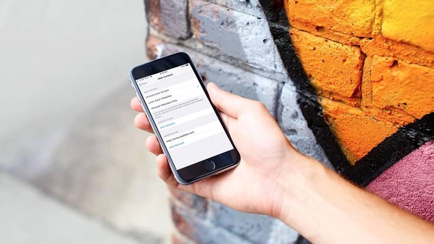 iOS'ta Web Siteleri Nasıl Engellenir?