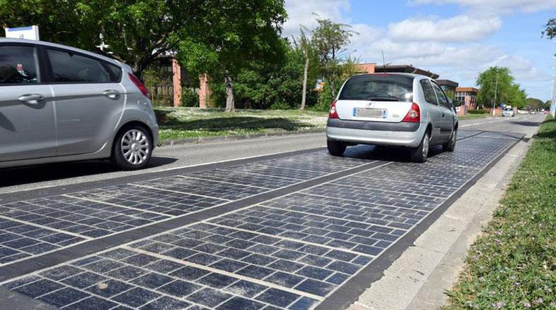 Fransa Güneş Enerjili Yol Projesi Wattway 2