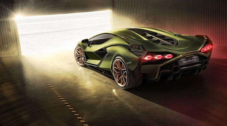 Lamborghini Sian 3