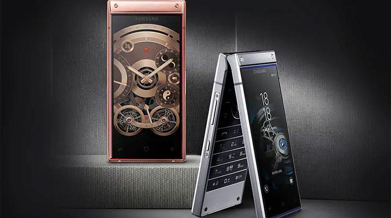 Samsung Kapaklı Telefon W2020 2