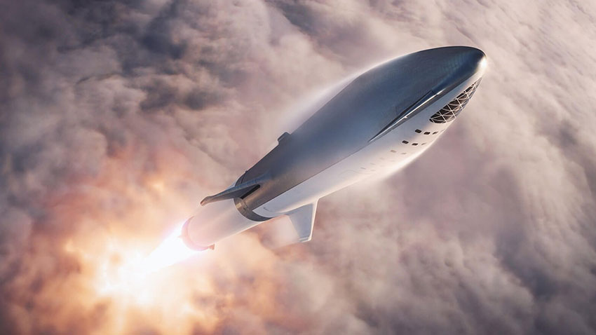 SpaceX Starship Test 1
