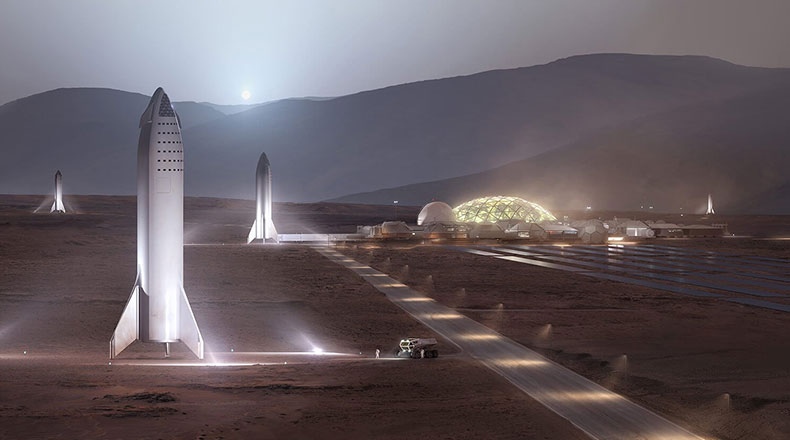 SpaceX Starship Test 2