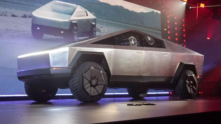 Tesla Cybertruck Trafikte Görüntülendi
