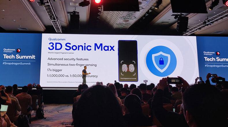Qualcomm 3D Sonic Max 1