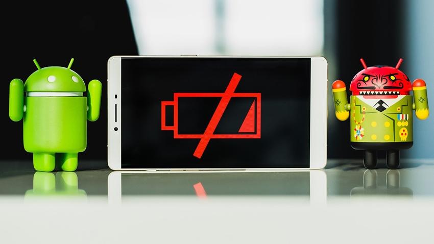 android batarya ömrü