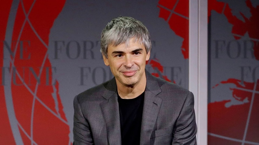 larry page flu
