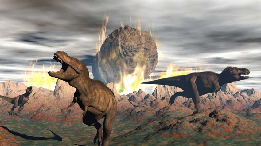 dinozor meteor