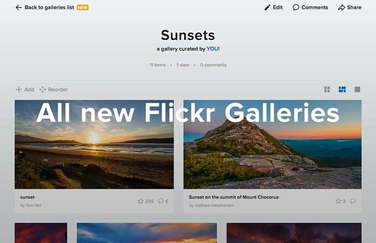 Flickr'dan Destek Çağrısı