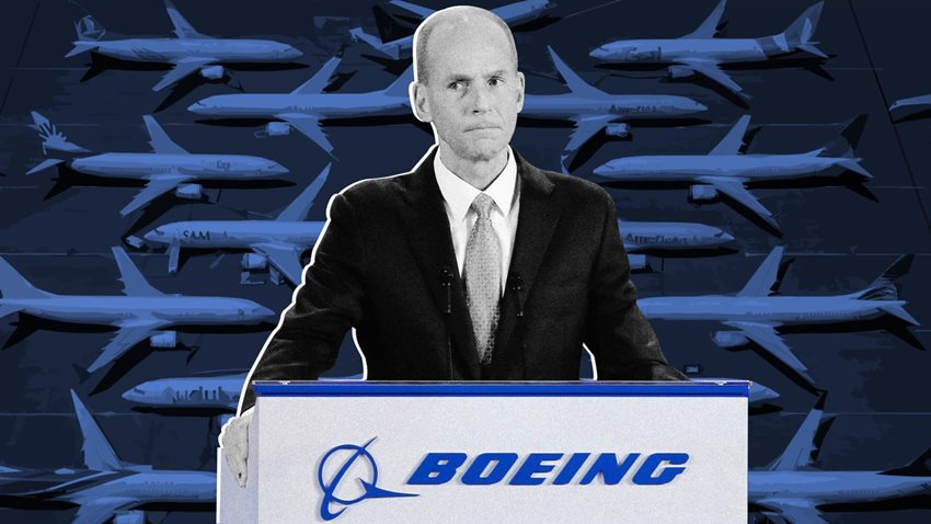 CEO Dennis Muilenburg'u görevden alındı