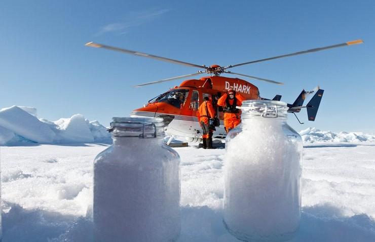 Kuzey Kutbu'nda Mikroplastik Bulundu