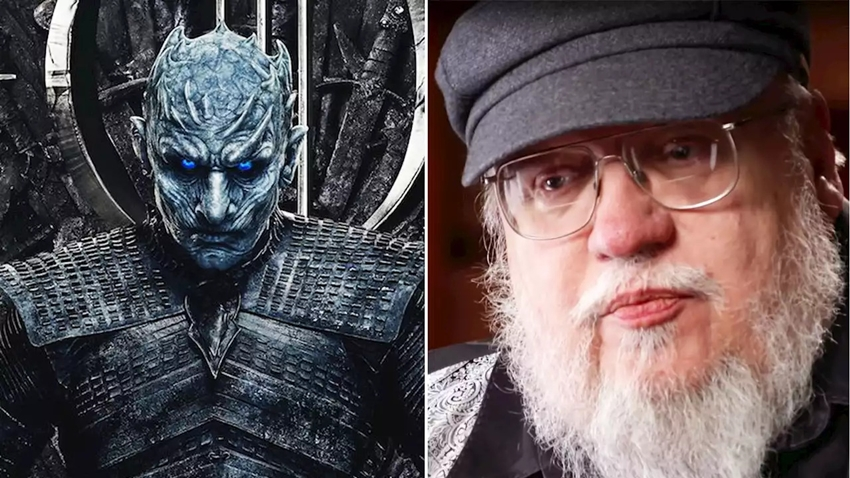 George R.R. Martin Game of Thrones finali