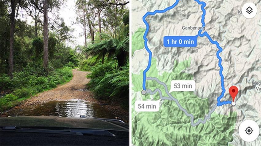 Google Maps 15 dakika