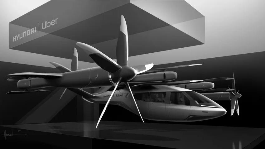 uçan araba konsepti