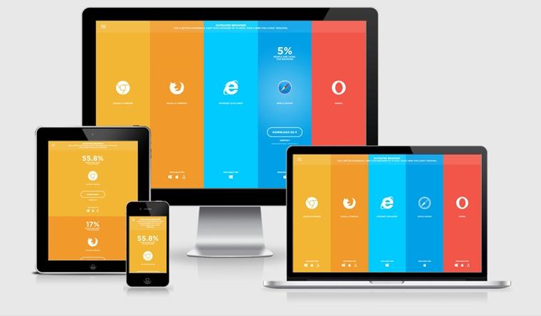 mobil web tasarımı