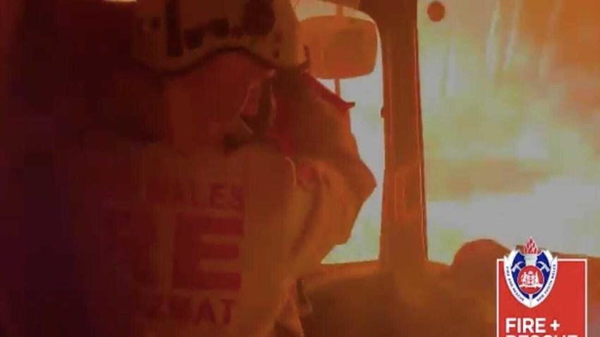 orman yangını video