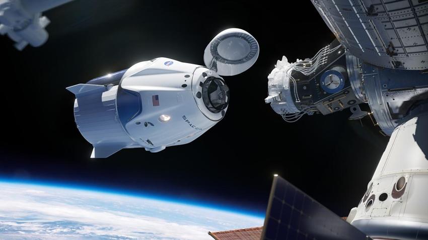 spacex insanlı uçuş