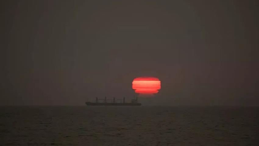 Yeni zelanda duman güneş