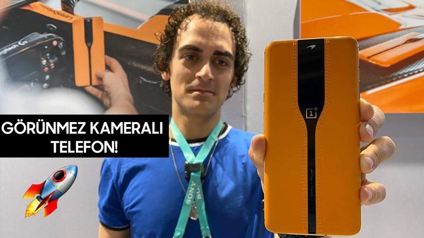 Güneşe Meydan Okuyan Telefon  OnePlus Concept One