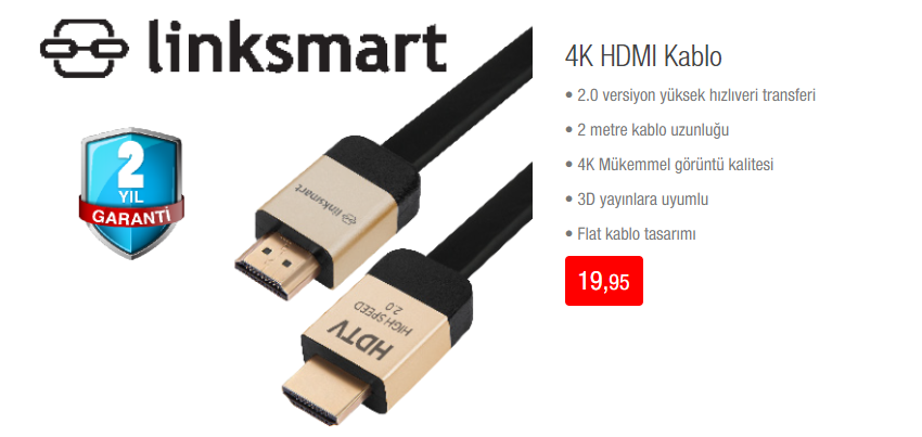 HDMI Kablo