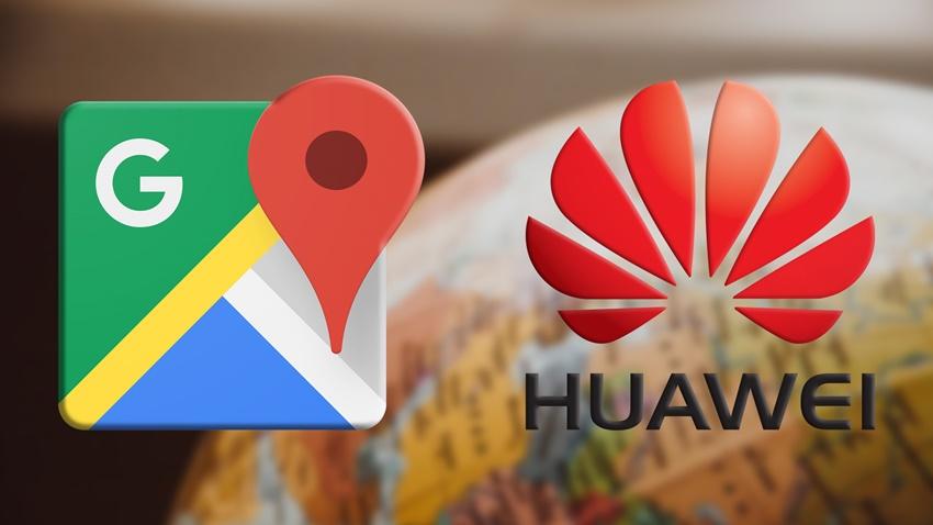 Huawei, Google Haritalar'a Alternatif Buldu!