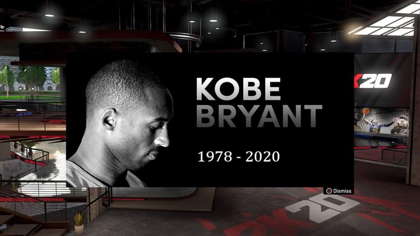 NBA 2K20, Kobe Bryant'ın Ölümünü Unutmadı!