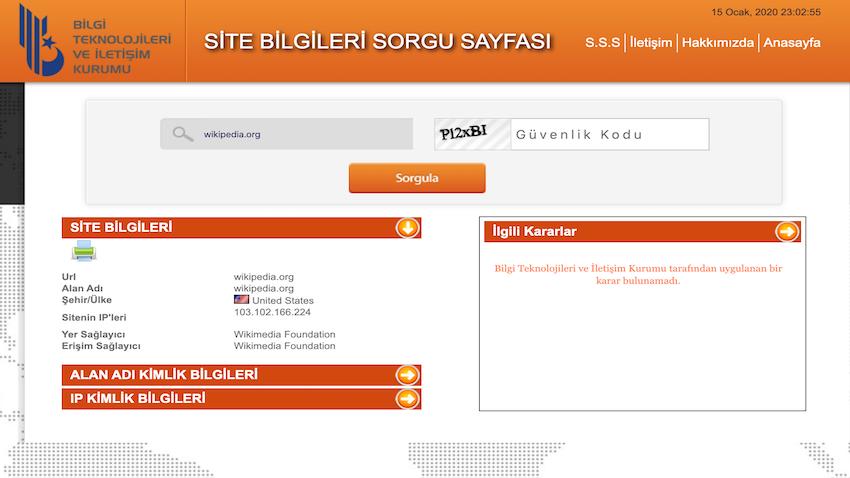 BTK Wikipedia erişim engelini açtı