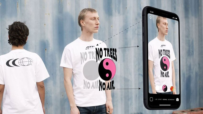 Artırılmış Gerçeklik T-shirtleri Görücüye Çıktı