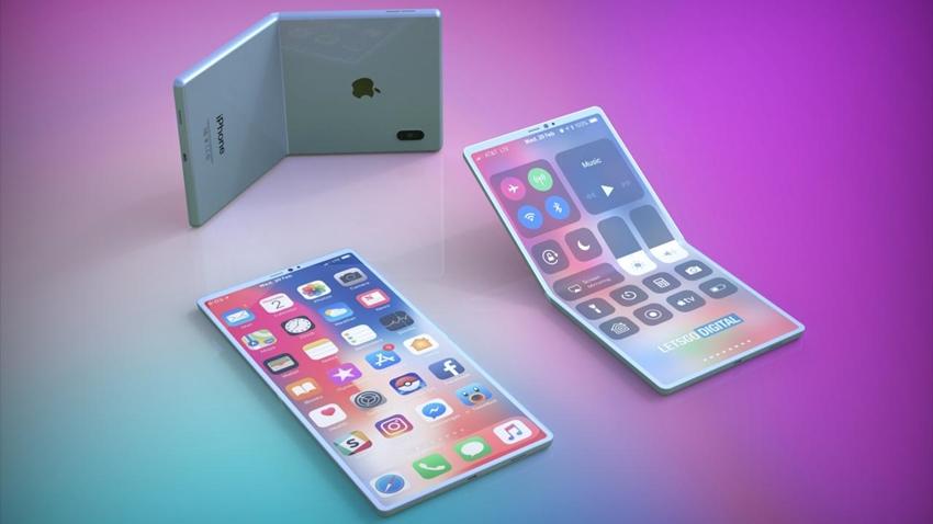 apple katlanabilir ekranlı telefon