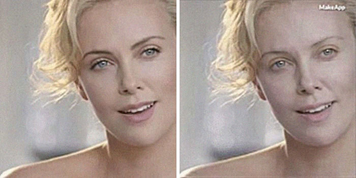 charlize thereon makeapp