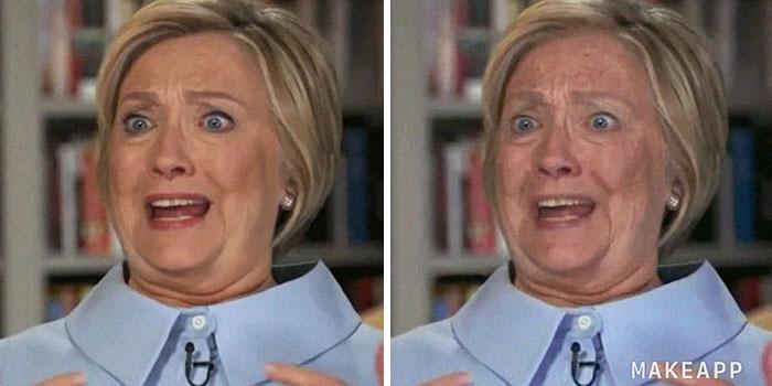 Hillary Clinton makeapp