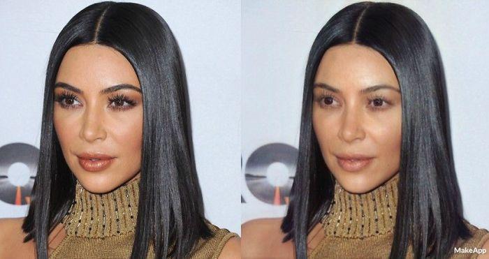 Kim Kardashian makeapp